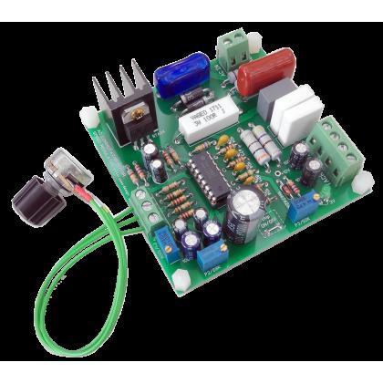 Плата регулятора - стабилизатора коллекторного двигателя на TDA1085