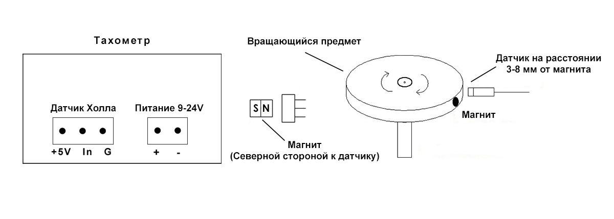 Тахометр электронный схема подключения фото 195
